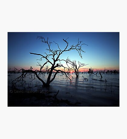 Blue Earth Photographic Print