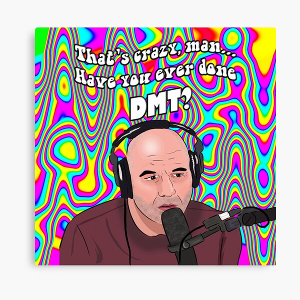 Joe Rogan DMT Meme Canvas Print