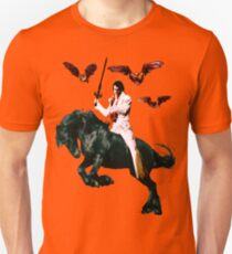 Heavy Metal Elvis Summons the Bats Unisex T-Shirt