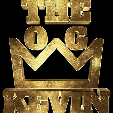 Kevin The O.G. With Big Golden Crown by Under-TheTable