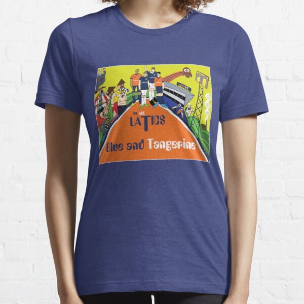 Oldham Athletic Blue And Tangerine Essential T-Shirt