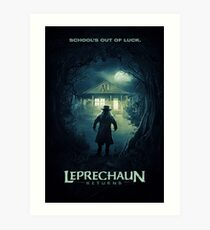 Leprechaun Returns Movie Poster Art Print