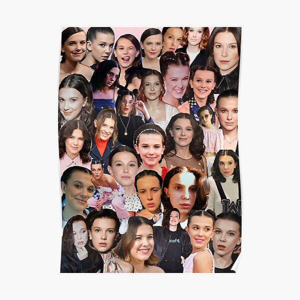 Millie Bobby Brown Collage Póster