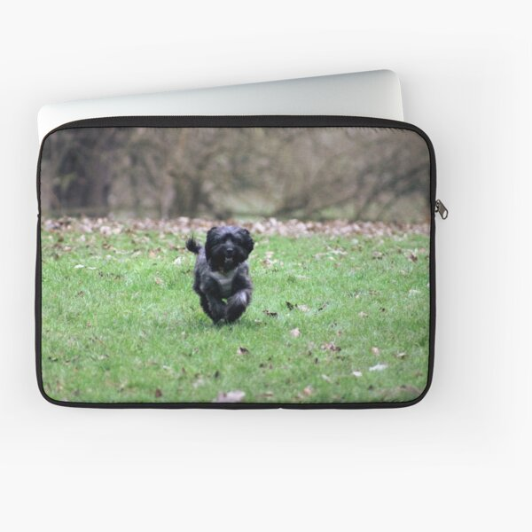 Pepper out for an run in the park Laptop Sleeve