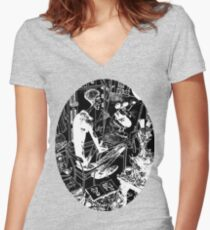 Inkspiration Tee Women's Fitted V-Neck T-Shirt