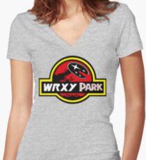 wrx park Women's Fitted V-Neck T-Shirt