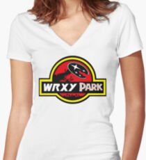 wrx park Women's Fitted V-Neck T-Shirt