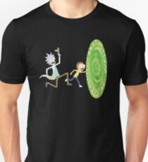 Rick and Morty Pixels - Pixel Rick! Slim Fit T-Shirt