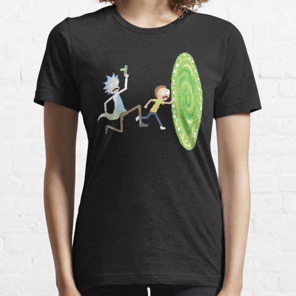 Rick and Morty Pixels - Pixel Rick! Essential T-Shirt