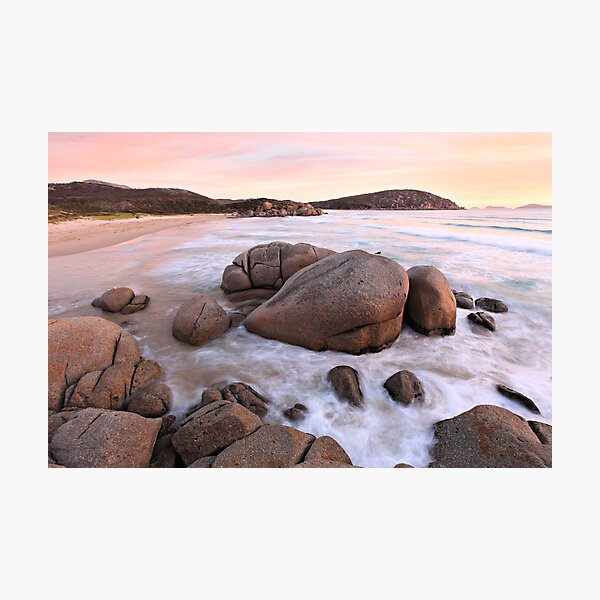 Whiskey Bay Beach, Wilsons Promontory, Victoria, Australia Photographic Print