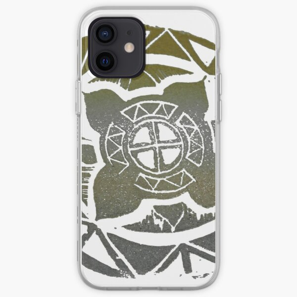 Mandala Effect - Metallic Mood iPhone Soft Case