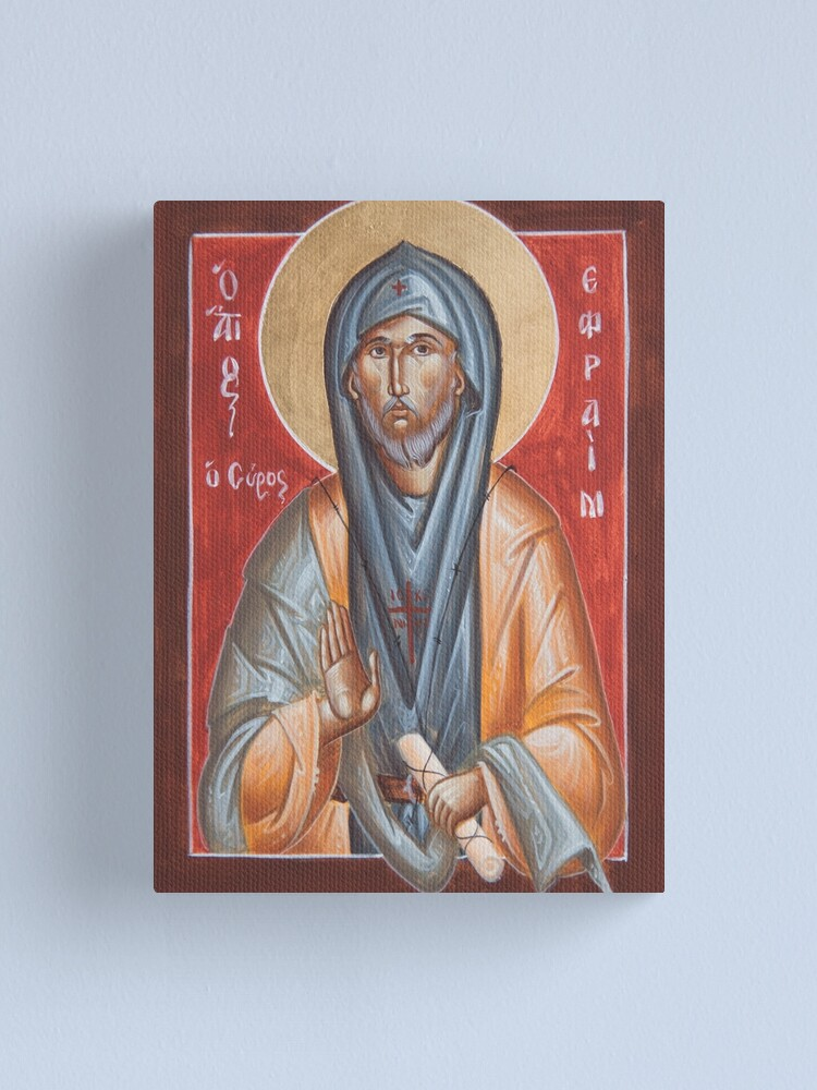Alternate view of St Efraim the Syrian Canvas Print