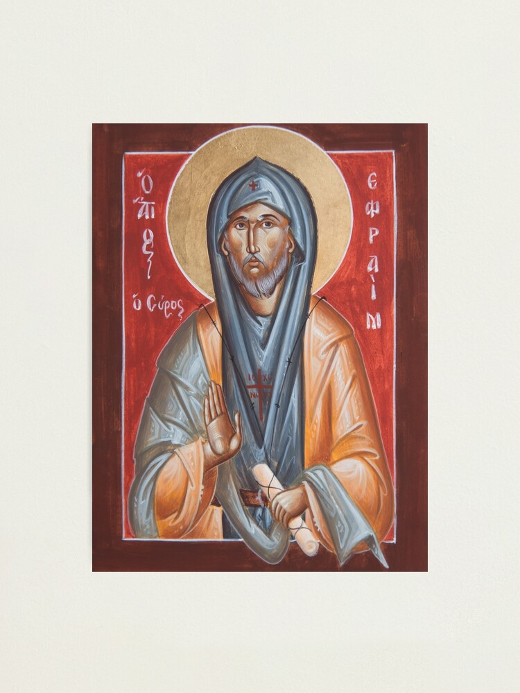 Alternate view of St Efraim the Syrian Photographic Print