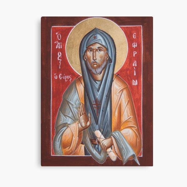 St Efraim the Syrian Canvas Print