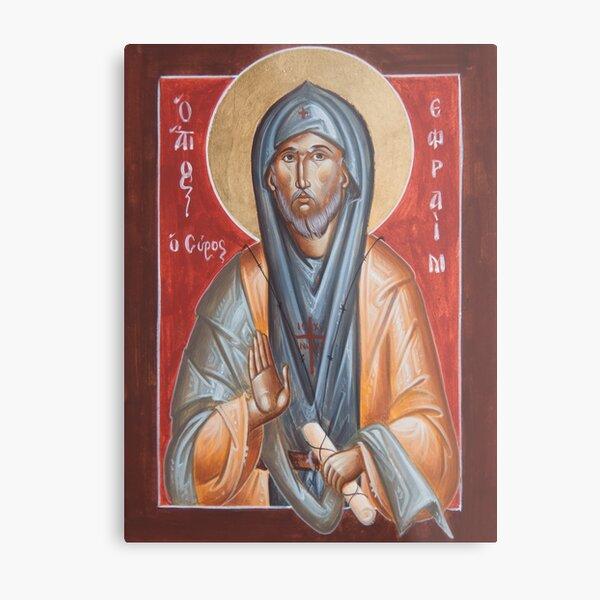 St Efraim the Syrian Metal Print