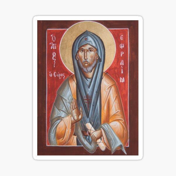 St Efraim the Syrian Sticker