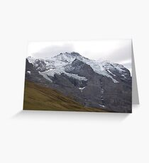 Suisse Mountains Greeting Card