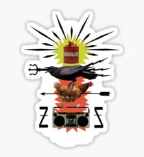 Incarnations of the Great Sky Electric Fuel God Sticker