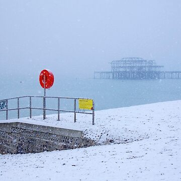That One Day when Winter came to Brighton by chuckirina