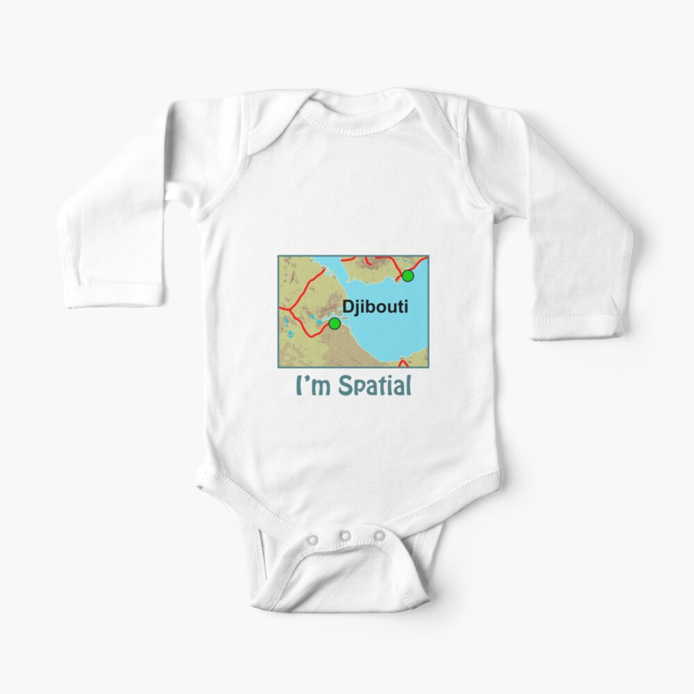 I'm Spatial Baby One-Piece