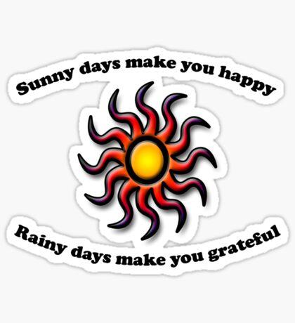 Sunny Days Sticker