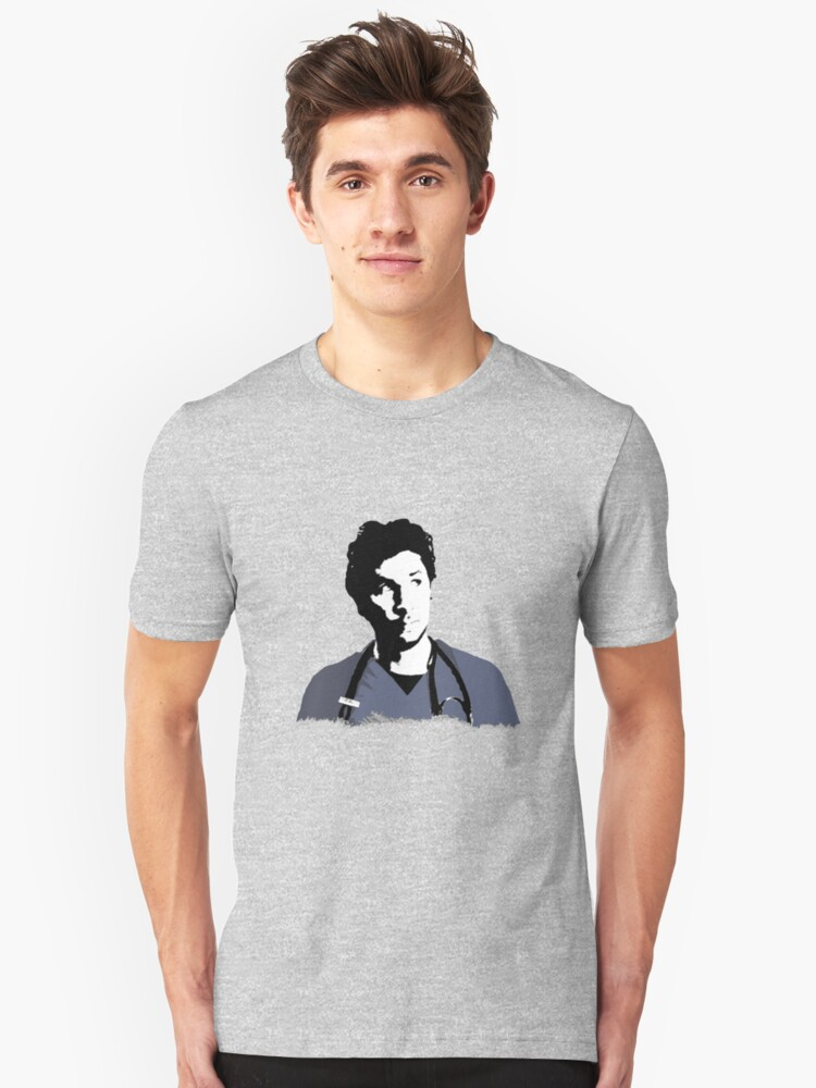 JD in thought Unisex T-Shirt Front
