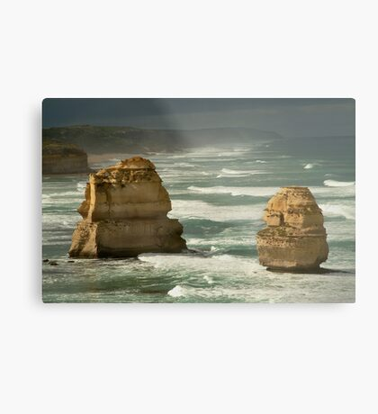 Dark Skies,Twelve Apostles,Great Ocean Road Metal Print