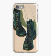 Black Boots iPhone Case/Skin