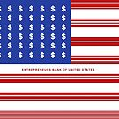 United States Of America Hustle Flag by SuccessHunters