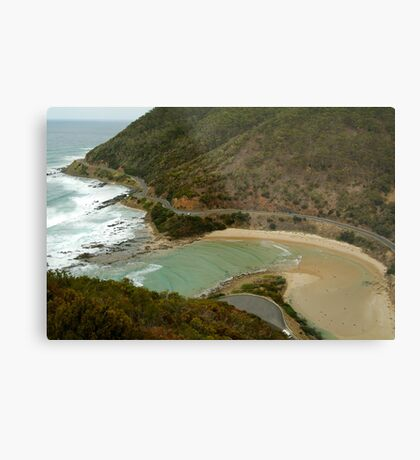 Great Ocean Road,Cherry Tree Creek Metal Print