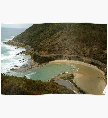 Great Ocean Road,Cherry Tree Creek Poster
