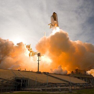 Nasa Rocket Launch by EdmondHoggeJr