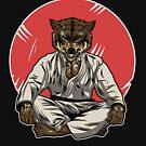 Schlechter Wolf in Gi - BJJ Jiu-Jitsu und MMA T-Shirt von pacomerch