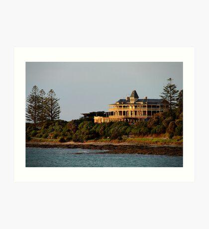 Grand Pacific Hotel,Great Ocean Road,Lorne Art Print