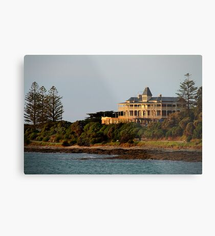 Grand Pacific Hotel,Great Ocean Road,Lorne Metal Print