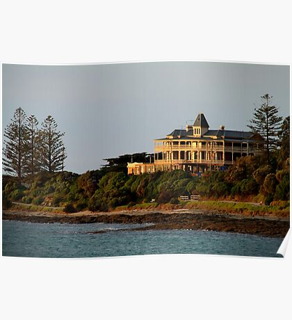 Grand Pacific Hotel,Great Ocean Road,Lorne Poster