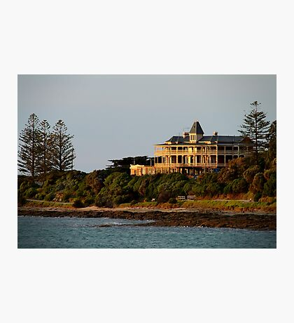 Grand Pacific Hotel,Great Ocean Road,Lorne Photographic Print