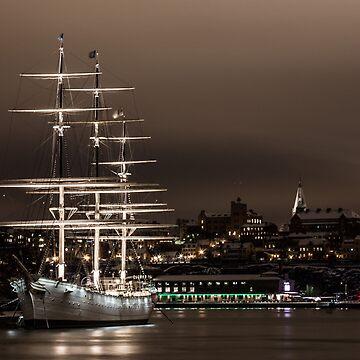Stockholm Bay by EdmondHoggeJr