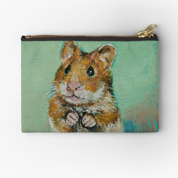 Hamster Zipper Pouch