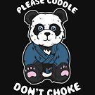 Cude Panda in Gi - BJJ Jiu-Jitsu und MMA T-Shirt von pacomerch