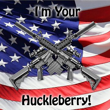 American Flag with Guns by EdmondHoggeJr