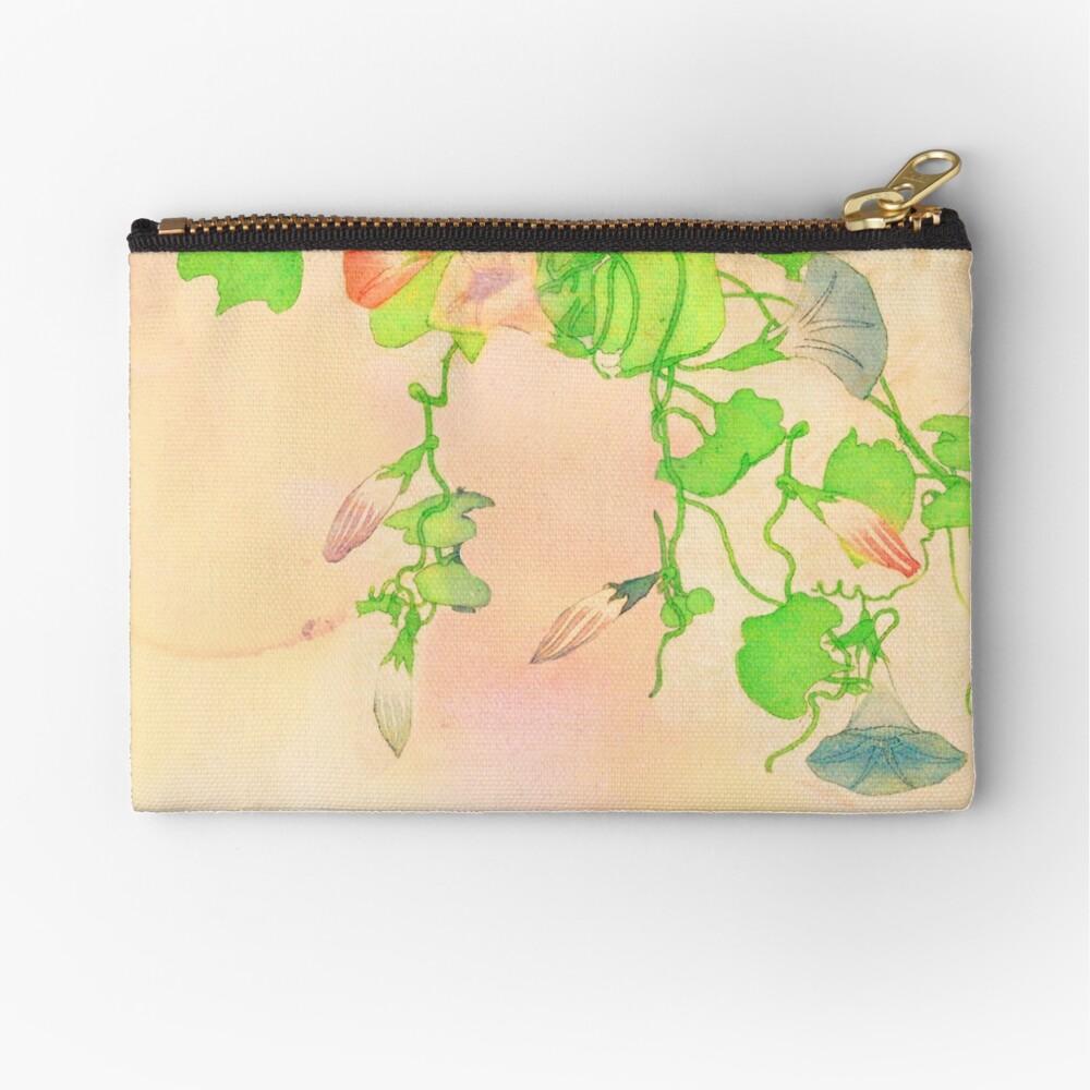 Flowering Zipper Pouch