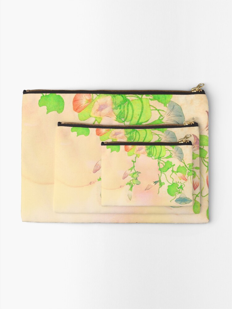 Alternate view of Flowering Zipper Pouch