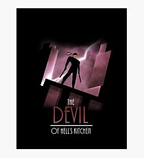 The Devil of Hell's Kitchen Photographic Print