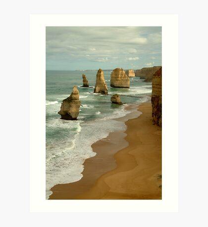 Patterns,Twelve Apostles Great Ocean Rd Art Print