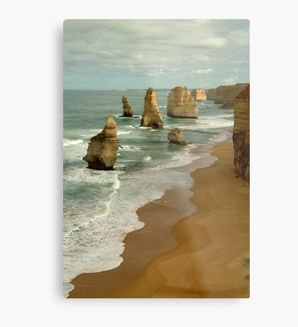 Patterns,Twelve Apostles Great Ocean Rd Metal Print