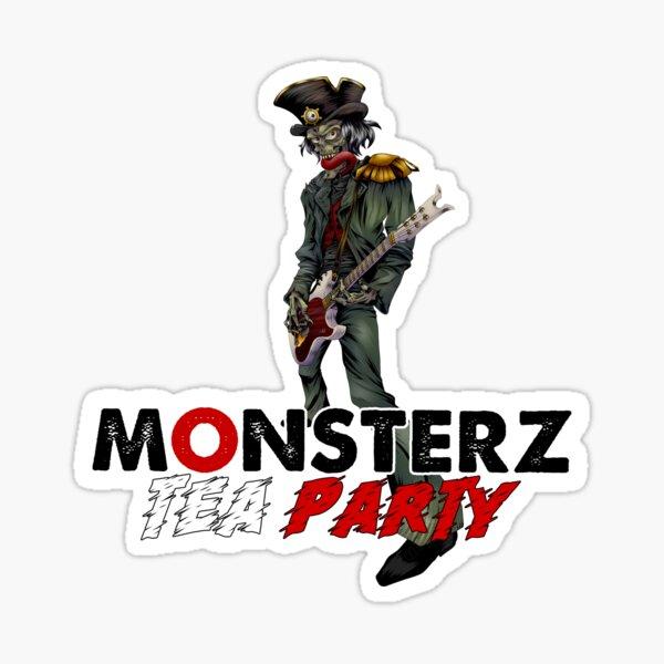 Monsterz Tea Party by Legoya & Nhell Sticker
