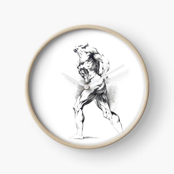 #art #adult #illustration #people renaissance marble painting naked Clock