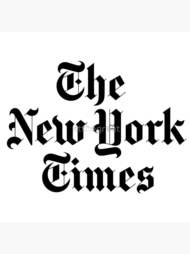The New York Times Logo  by ktthegreat