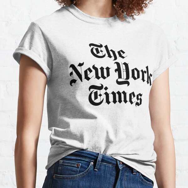The New York Times Logo  Classic T-Shirt